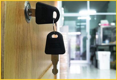 Columbus lock and key